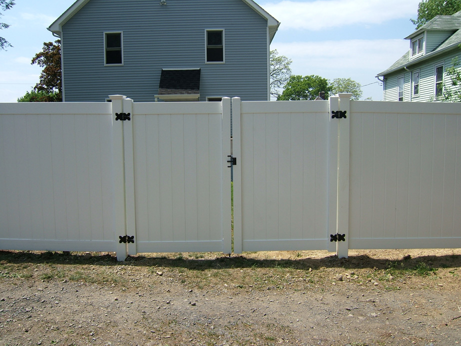 Tongue and Groove Double Gate