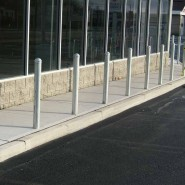 4′ Galvanized Bollards