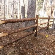 Rustic Cedar Post and Rail