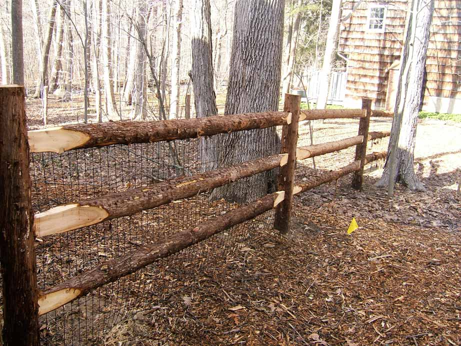 Rustic Cedar Post and Rail | Kuperus Custom Fence