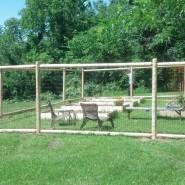 2 Rail Deer Fence