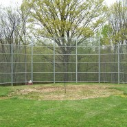 20' Galvanized Backstop