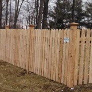 Dog Ear Cedar Picket