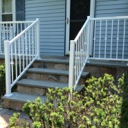 Railing with Decorative Collars