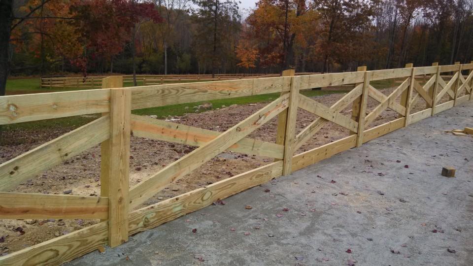 X Pattern Kuperus Custom Fence