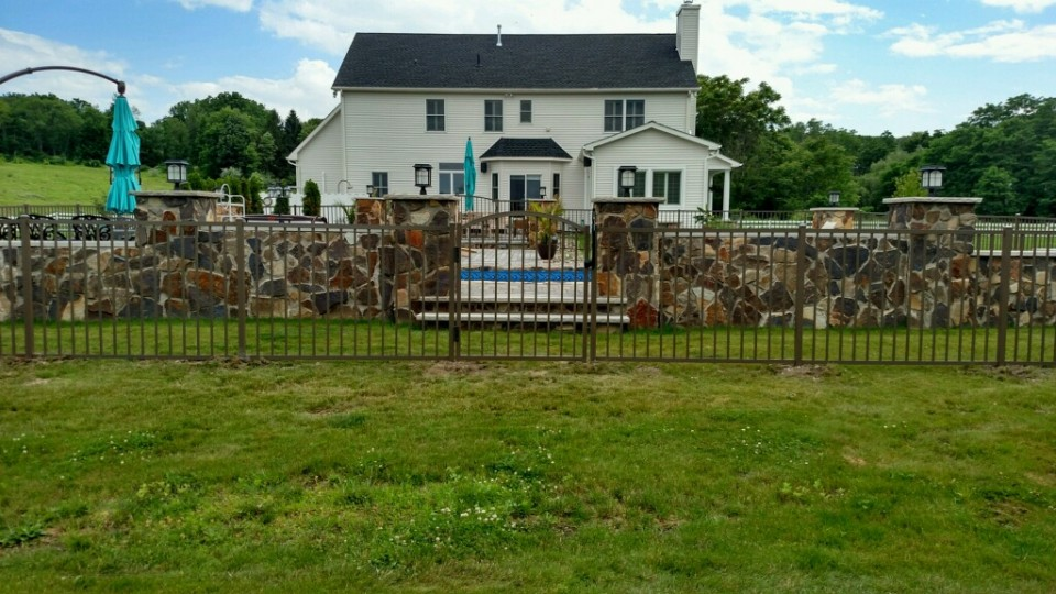Pool Fence With Gate